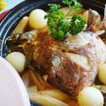 愛菜とまとで新風!!和風イタリアン【鯛の兜煮です♪】  by あきさん