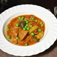 【ヤマキだし部】豚肉のだしトマト煮込み。だしとトマトの組み合わせがお気に入りのレシピ。