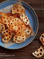 ガラムマサラ風味のれんこんチップ