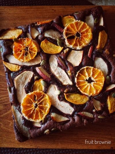 フルーツブラウニー・ふわふわ食パン