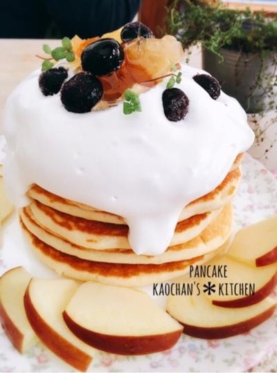 ダンナ&息子のお留守番朝ごはん。 [LIMIA]ふんわりパンケーキ