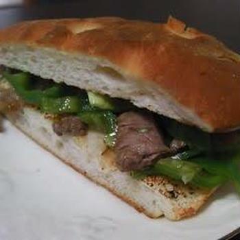 青椒肉絲風サンド。