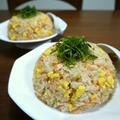 【簡単レシピ】ふんわり炒り卵とふわふわ鮭の簡単炒飯♪ by bvividさん