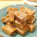 【レシピ】「こうや豆腐の照り焼き」始まったお弁当のおかずに。ヘルシー月間続く