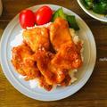 焼いて絡めるだけ◯鶏むね肉でしっとり旨辛♡タッカルビ!