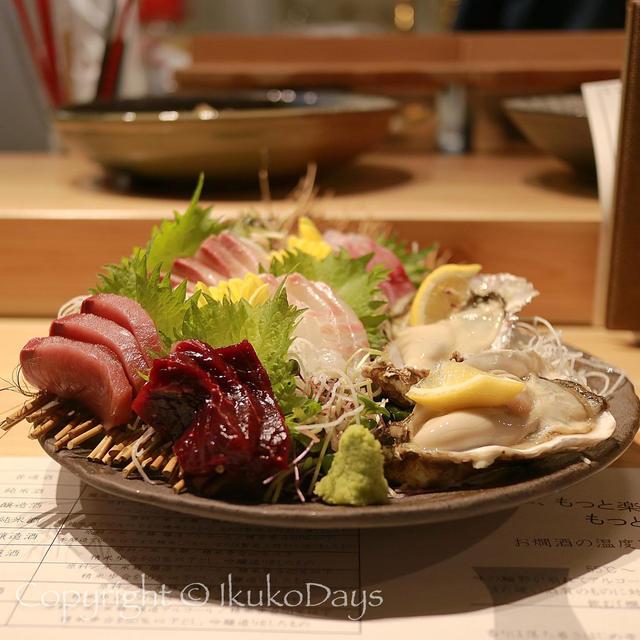新宿で魚が食べたい&日本酒気分になったらココへ!:「うおや 坐唯杏」新宿三丁目・御苑前