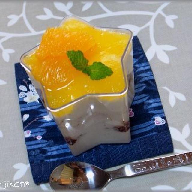 オレンジのティラミス…と、好きな料理家、お料理ブロガーさん♪