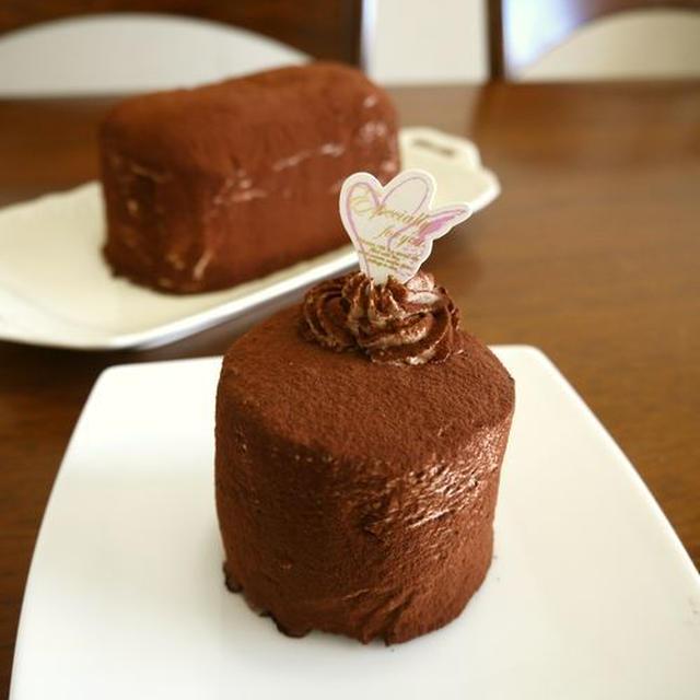 【バレンタイン】生チョコクリームのビスケットケーキ♪&aiko/カブトムシ♪