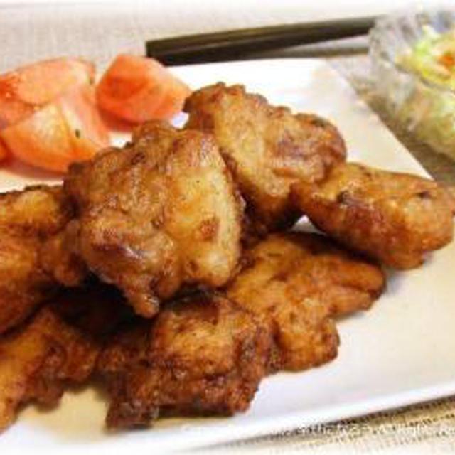 【にんにく】【しょうが】lune家の鶏のから揚げ