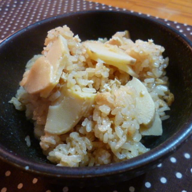 ★ 土鍋たけのこご飯 ★