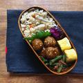 鶏団子の生姜焼き