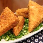 高野豆腐のベーコン挟み揚げ