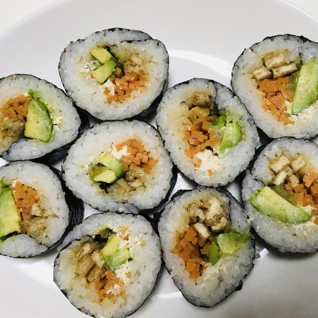 ヴィーガンレシピその52☆巻き寿司