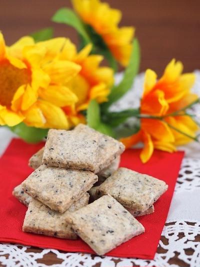 黒ゴマ豆乳クッキー