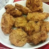 鶏むね肉でフライドチキン!!~レシピあり