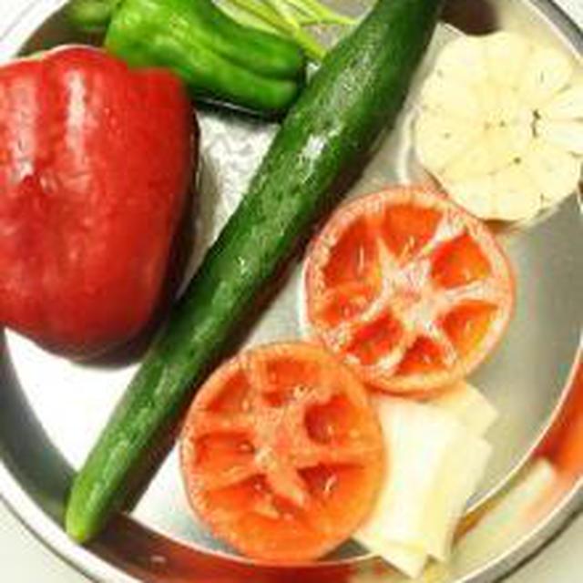 野菜のスープ ガスパチョ