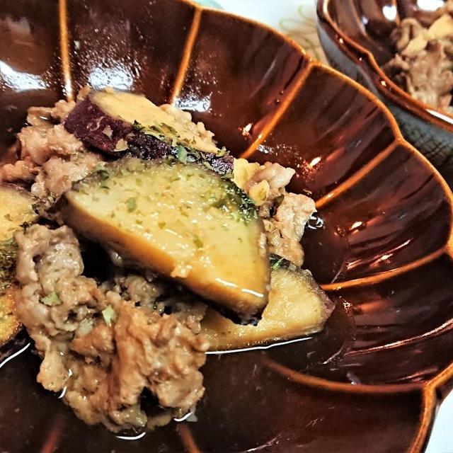 【レシピ】レンチンで手軽に、節約おかず!【豚こまとさつま芋のオイスター煮込み】#豚小間#さつま芋