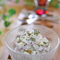 10分で出来るお洒落なデリサラダ♡【薩摩芋のヨーグルトクリームサラダ】