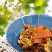 白菜と油揚げのくたくた煮