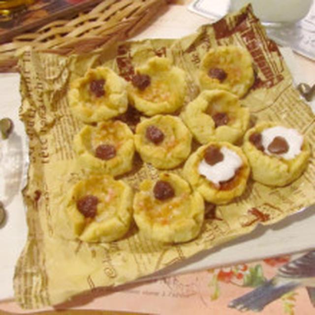 高野豆腐とごぼうのマシュマロパンクッキー♥