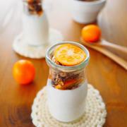 2月のカカオとナッツとオレンジのグラノーラ。。。