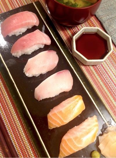 お家de握り寿司