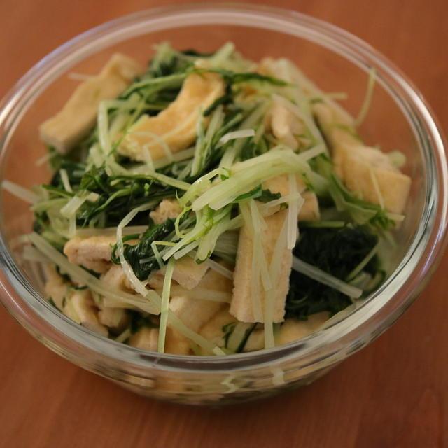 ほぼホットクックだけ!4品の作り置き。冬瓜スープと水菜の煮浸しとサラダチキンとブロッコリーとソーセージ炒め。