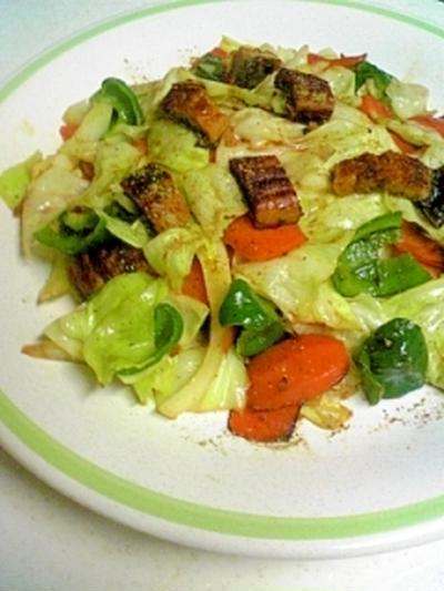 ちょいと贅沢気分☆うなぎ野菜炒め / リハビリ始めました