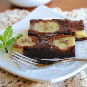 濃厚しっとり♪バナナ入り「ガトーショコラ」のおすすめレシピ