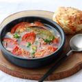 週末ゆるっと、「トマトと豆の焼きスープ」