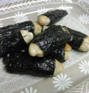 牡蠣の磯辺焼き