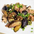 鶏もも肉と茄子の粒マスタード炒め【#ダイエット #簡単レシピ #鶏もも肉 #ナス】