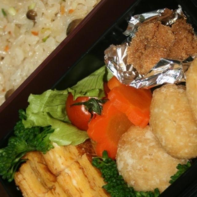 12月5日  炒飯&チキンナゲット弁当(練習)