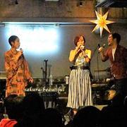 世界基準の歌声とNY,LAで人気のバーボン「ウッドフォードミントジュレップ」を渋谷で♪