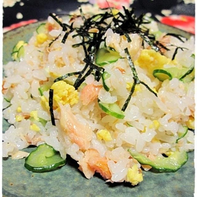 我が家の簡単ちらし寿司? <鮭ちらし>