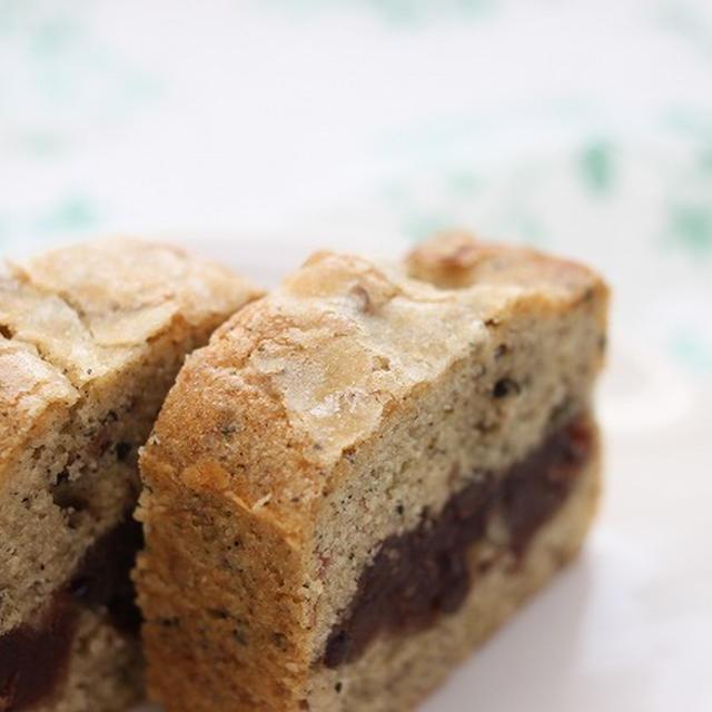 ★レシピ★ 胡麻と餡子のパウンドケーキ