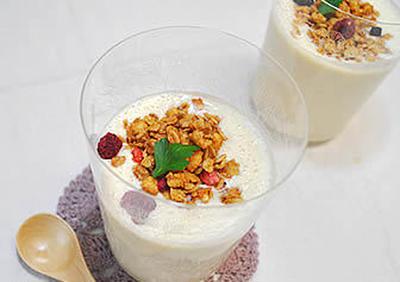 豆乳のヨーグルト風デザートドリンク
