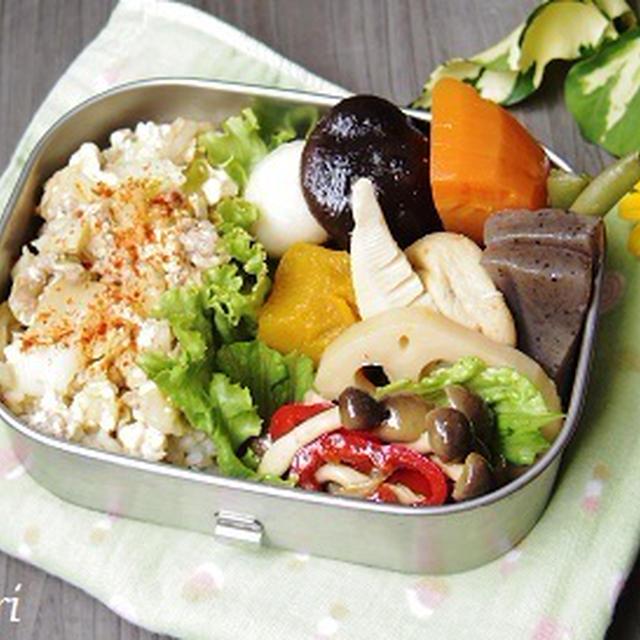 肉豆腐キムチ丼弁当
