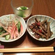 にんにくパンチな豆腐ステーキ♡物干しの庭☆