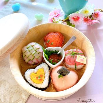 高級チョコ風~バレンタイン寿司♡