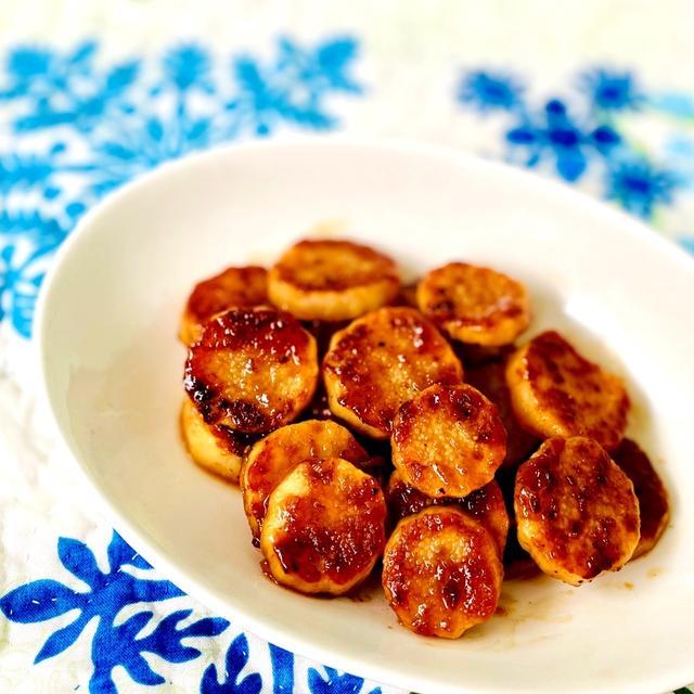 長芋の焦がしにんにくバター醤油焼き♡簡単おつまみ♡