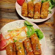 高野豆腐の肉巻き