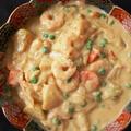 海老とかぶの柚子味噌クリーム煮