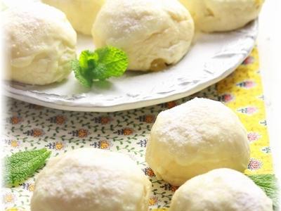 >レモンとホワイトチョコの白パン。 by YOMEさん