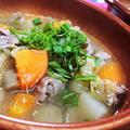【レシピ動画】身体ポカポカ★コク旨★野菜たっぷり【モツ煮込み】