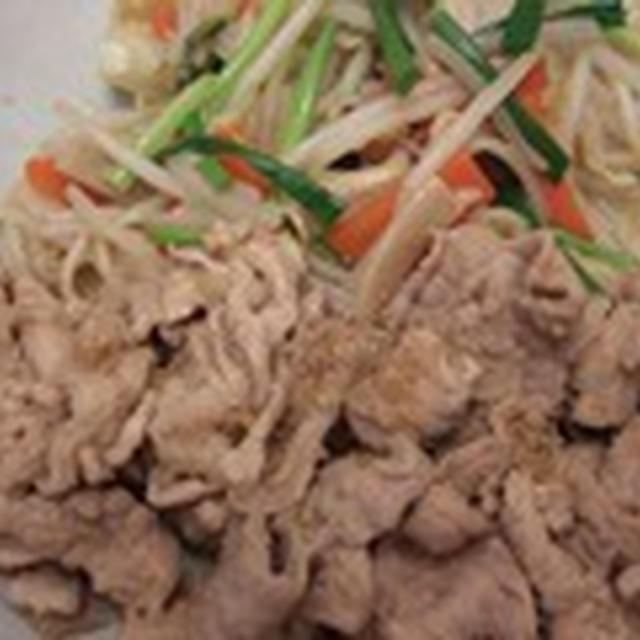 休肝日に 生姜焼き定食
