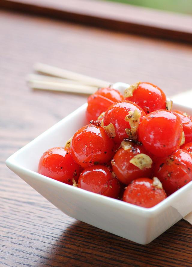 プチトマトのおいしい食べ方20選!おかずやおつまみにも!の画像
