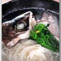 メシ通『魚介を使った簡単レシピ』 ☆ 鯛の頭とかまで定番の潮汁!