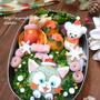 【キャラ弁】ジェラトーニのクリスマス弁