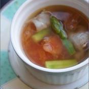 朝のぽかぽか野菜スープ